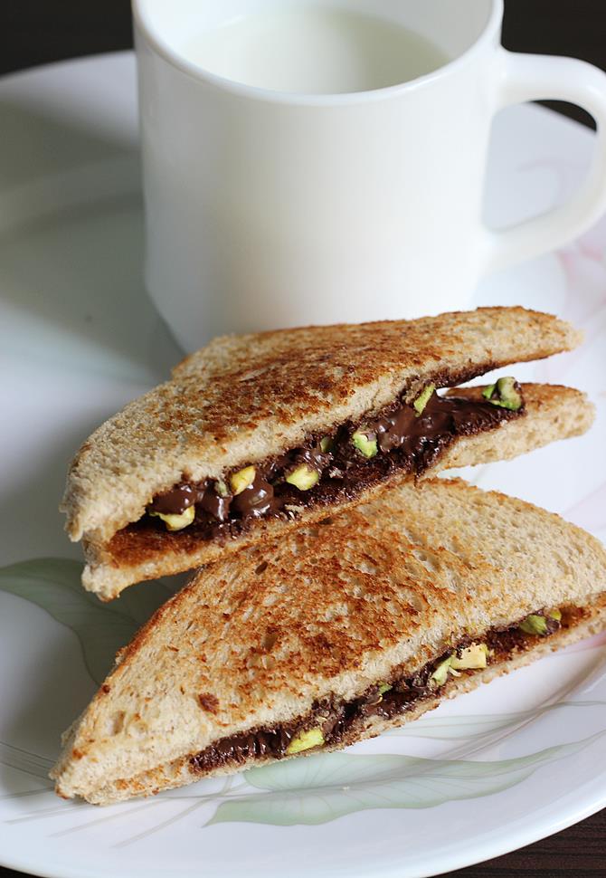 chocolate sandwich recipe