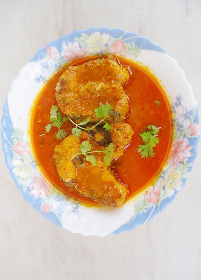 fish pulusu recipe
