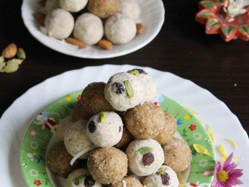 badam laddu, almond ladoo recipe