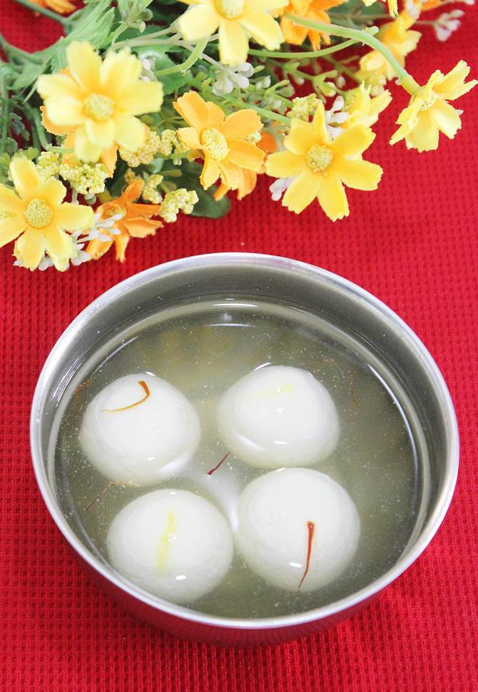 rasgulla recipe swasthis recipes