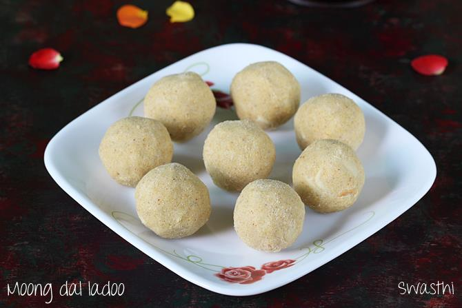 moong dal laddu recipe