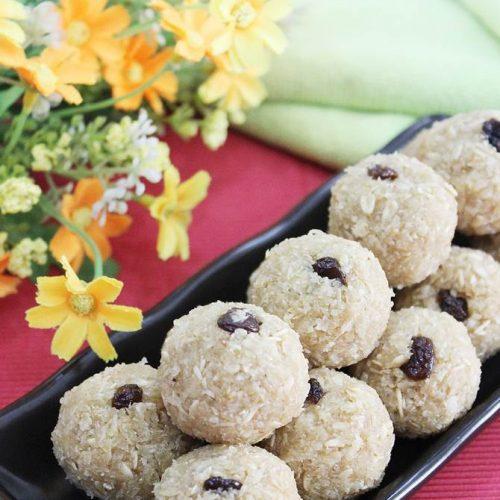 oats laddu recipe