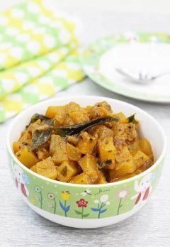 Pumpkin Masala Recipe – Gummadikaya Masala koora