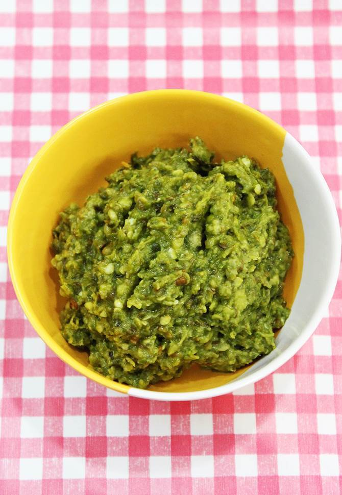 green chilli chutney recipe