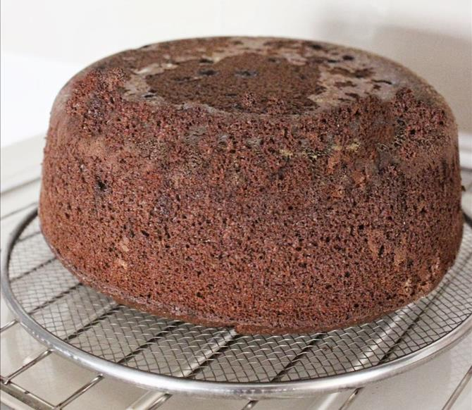 cool and then frost or sprinkle powdered sugar for chocolate coconut cake recipe