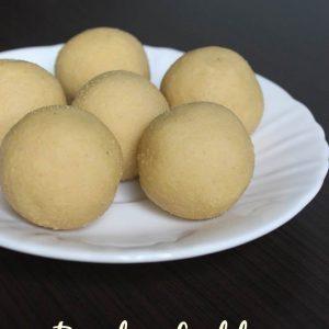 bandar laddu recipe | how to make thokkudu ladoo recipe
