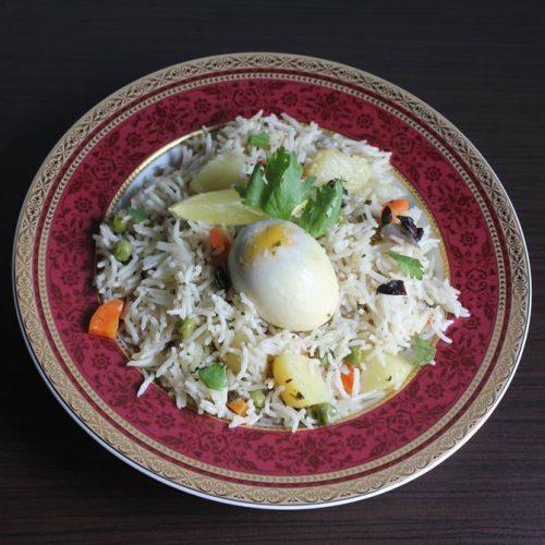 egg pulao recipe