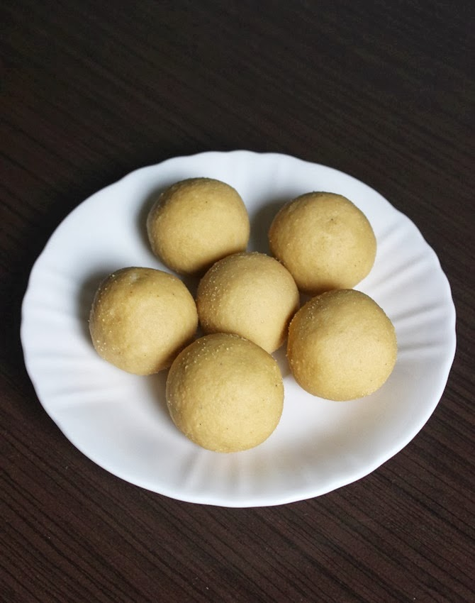 andhra homemade bandar laddu