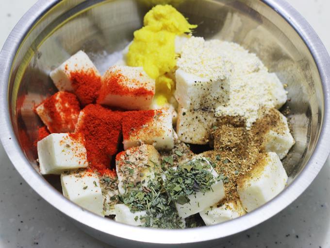 marination for paneer amritsari