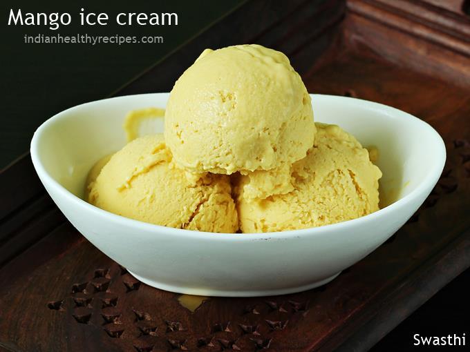 mango ice cream recipe