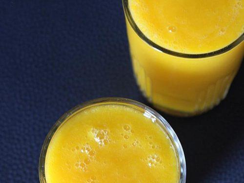 mango milk shake recipe