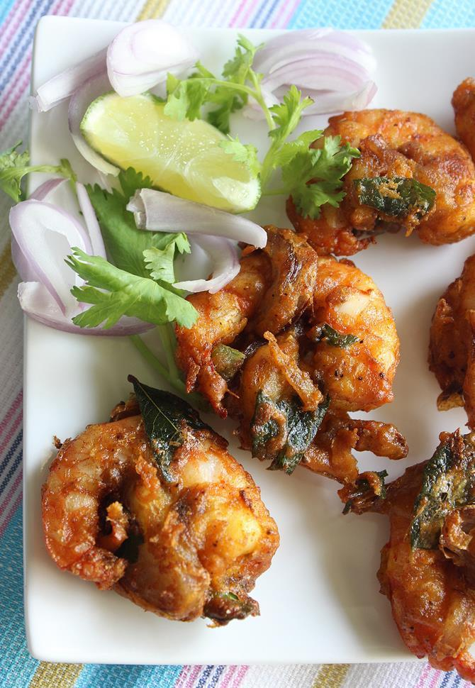 prawn pakora recipe 2