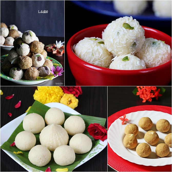 Ganesh chaturthi ladoo recipes