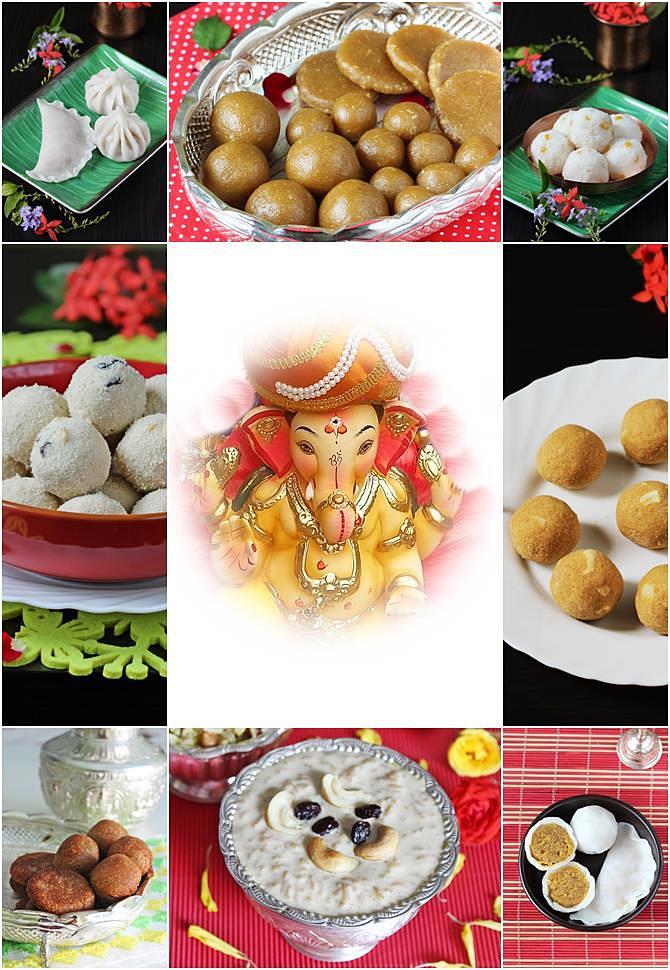 Image result for ganesh chaturthi dishes with ganesha