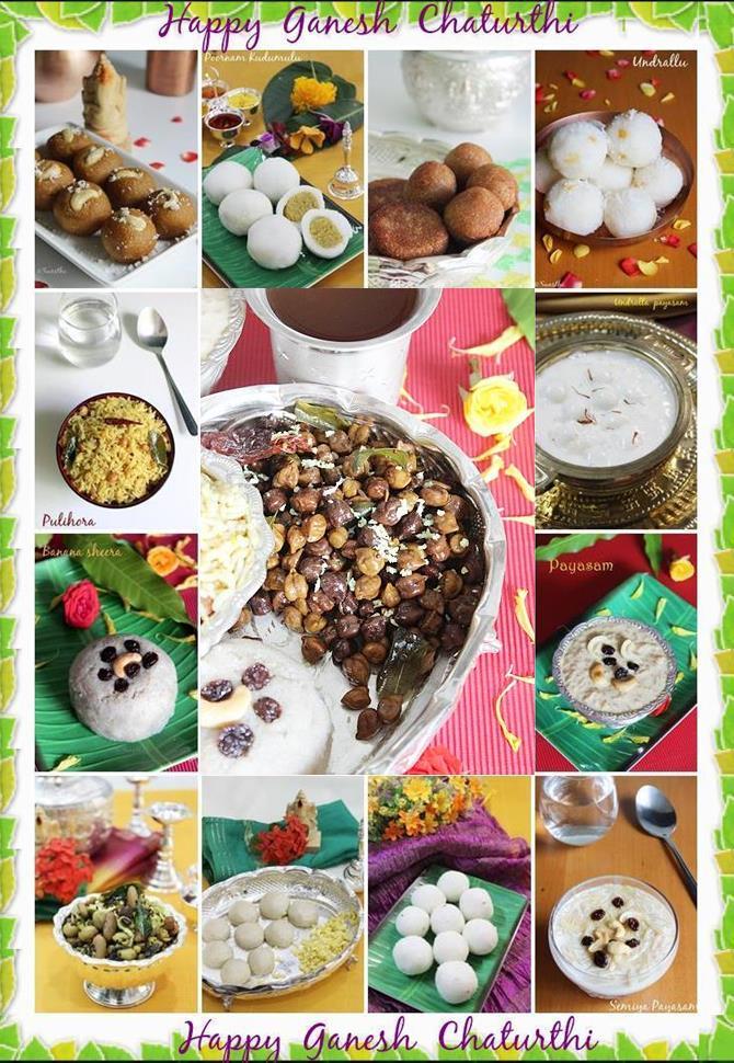 vinayaka chavithi naivedyam recipes andhra recipes