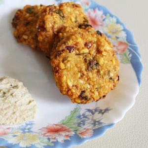 mixed dal vada recipe