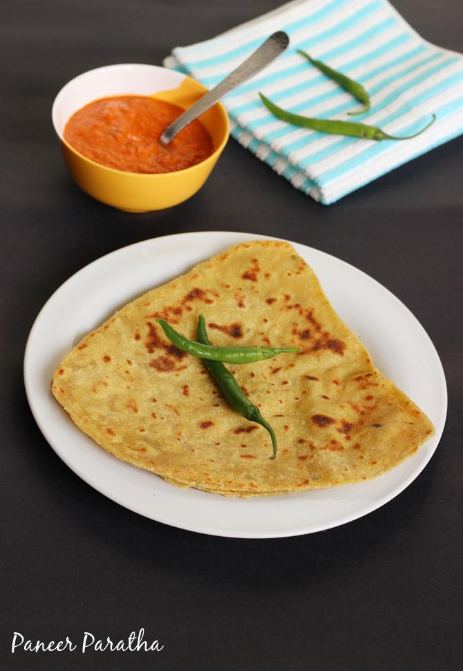 paneer paratha recipe swasthis recipes
