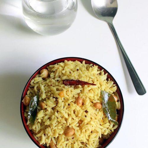 pulihora recipe, andhra pulihora, chintapandu pulihora