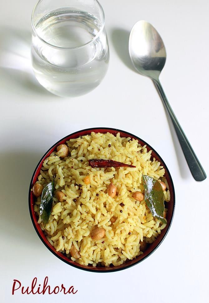 making chintapandu pulihora recipe, tamarind rice