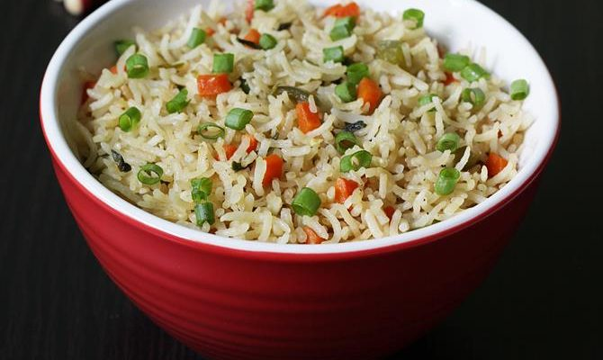 Veg fried rice recipe video | How to make vegetable fried rice recipe