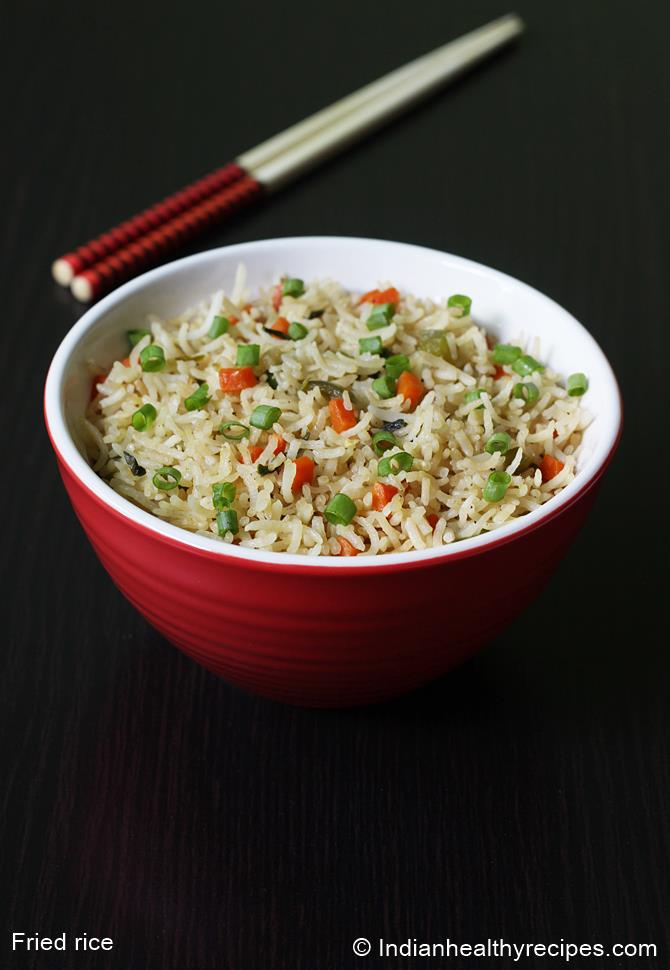 Veg fried rice recipe video how to make vegetable fried rice recipe vegetable fried rice recipe indian chinese style ccuart Images
