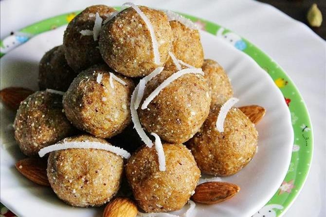 almond ladoo recipes