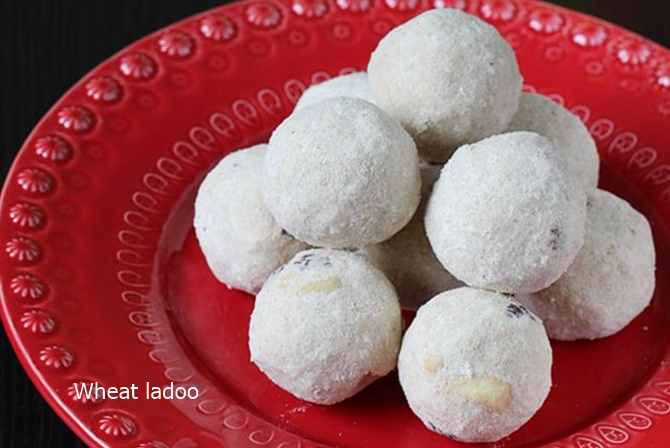 atta ladoo recipes