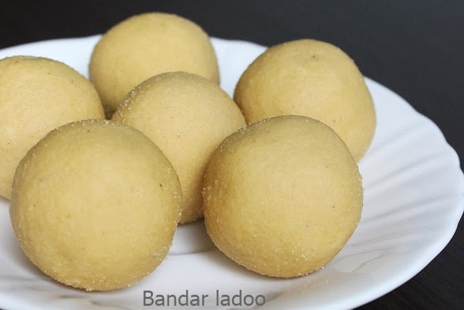 bandar laddu recipes