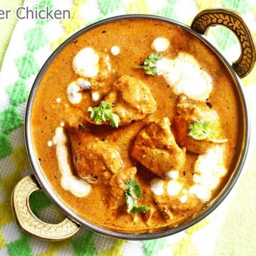 Butter Chicken Recipe Chicken Makhani Swasthi S Recipes