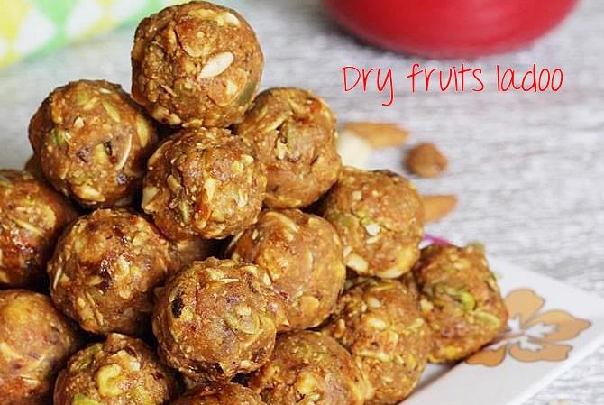 dry fruits laddu