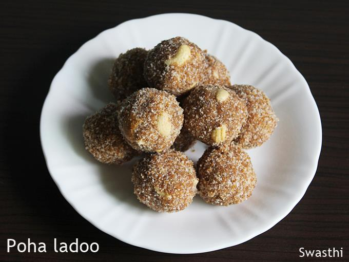ladoo recipes poha ladoo