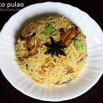 potato pulao