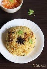 potato rice recipe