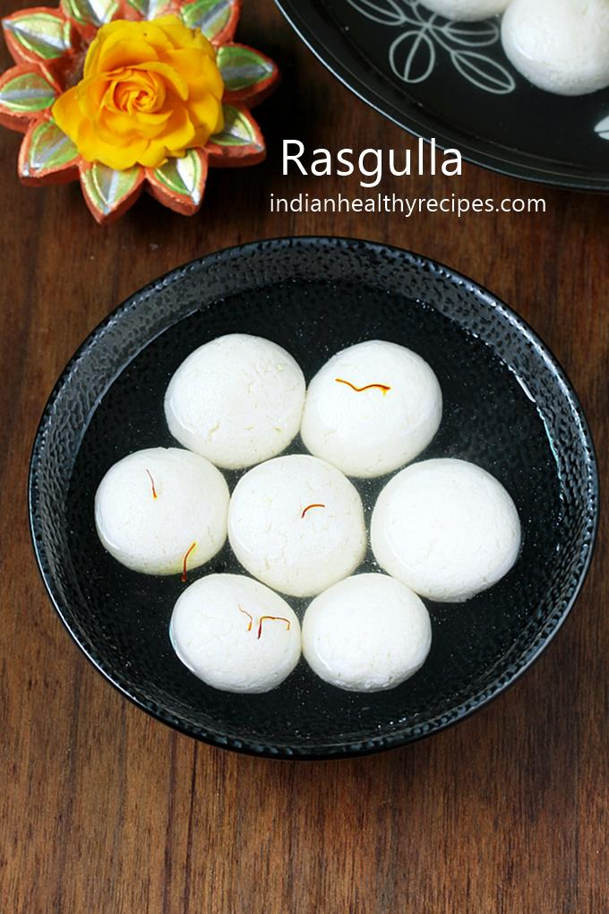 Rasgulla recipe - Soft, spongy and juicy rasgulla recipe with step by step photos. #rasgulla #rasgullarecipe #diwalisweets
