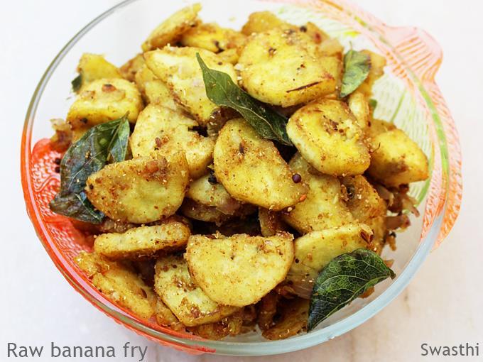 raw banana fry recipe
