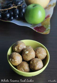 sesame seeds ladoo recipe