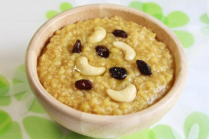 millet sweet pongal recipe