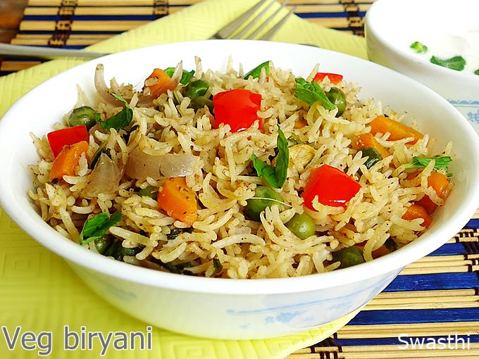 Vegetable biryani in pressure cooker how to make veg biryani recipe veg biryani recipe forumfinder Images