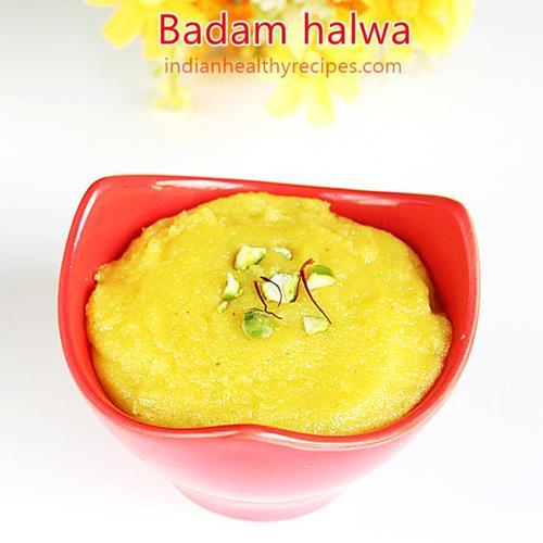 diwali sweets badam halwa