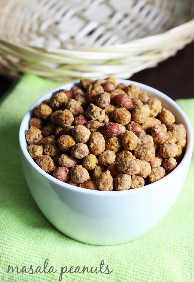 masala peanuts recipe