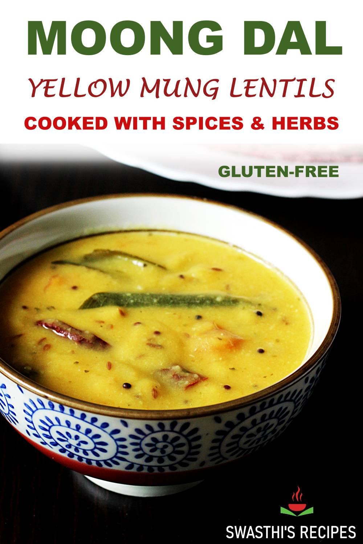 Moong dal recipe (Stovetop & instant pot)