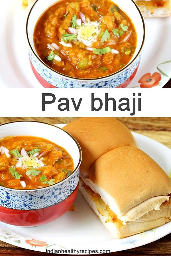 Pav Bhaji Recipe How To Make Pav Bhaji