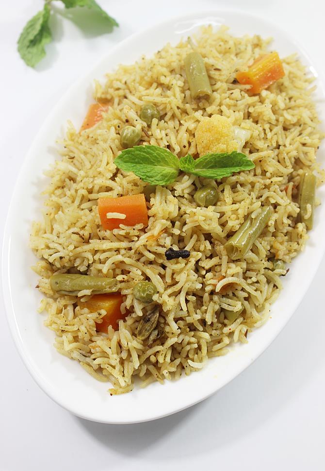 Veg biryani recipe | How to make veg biryani (restaurant style)