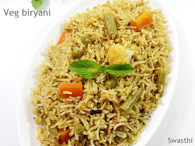 Veg biryani recipe how to make veg biryani recipe in restaurant style vegetable biryani recipe forumfinder Images