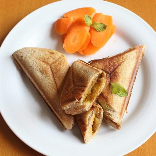 Potato Sandwich Recipe How To Make Aloo Sandwich Recipe With Bread