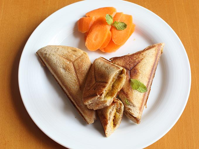 aloo sandwich recipe