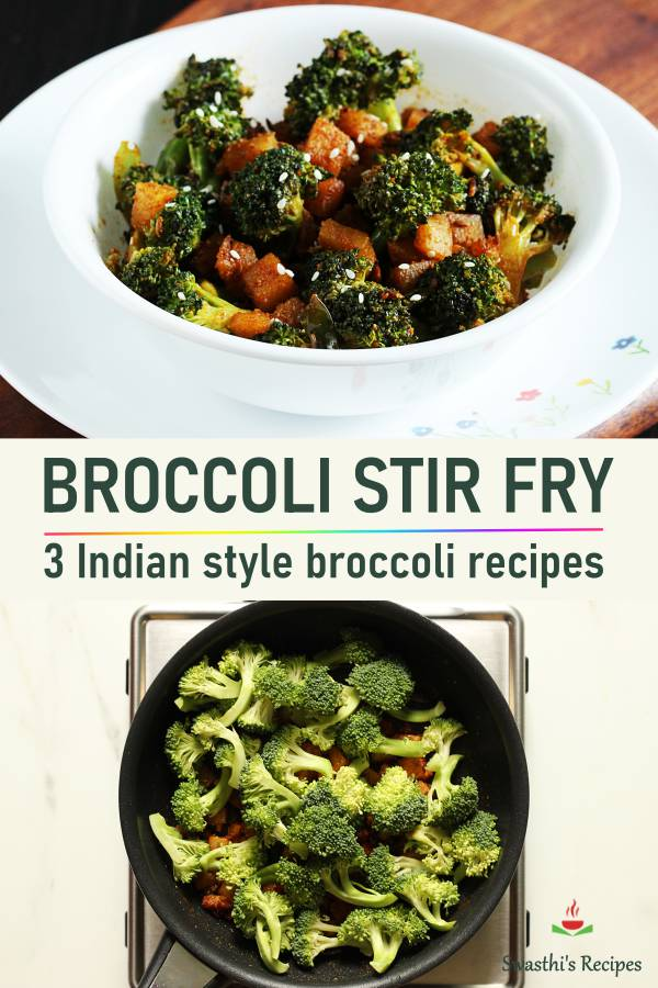 Broccoli stir fry recipe | Broccoli curry | Indian broccoli recipes