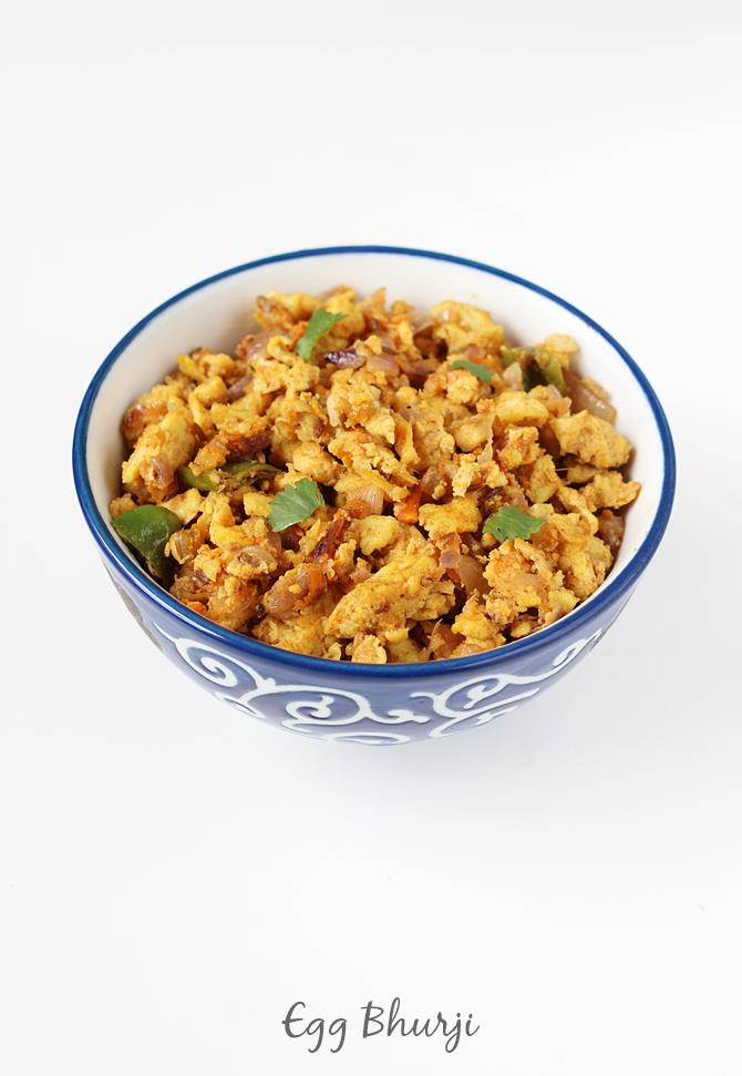 egg bhurji recipe anda bhurji