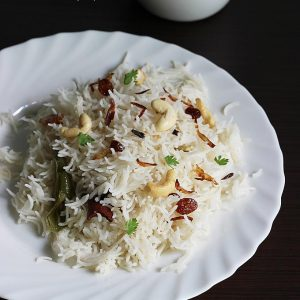 Ghee rice recipe video | How to make ghee rice recipe with kurma