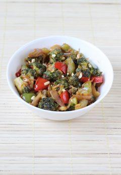broccoli curry, broccoli stir fry recipe (indian recipe)